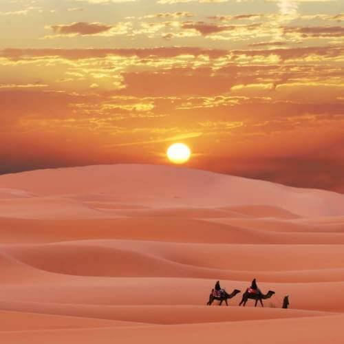 沿摩洛哥卡斯巴斯路線往返(10天)從阿爾梅里亞出發,馬拉加太陽海岸
