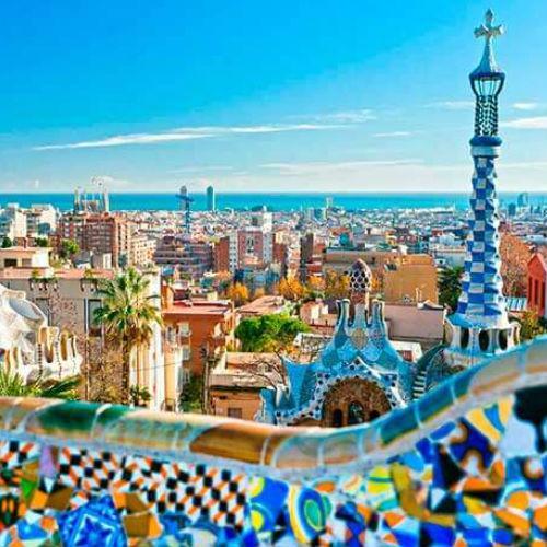 La Barcelona de Gaudí - medio día